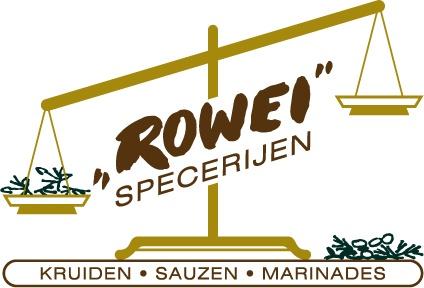Rowei specerijen heemskerk logo